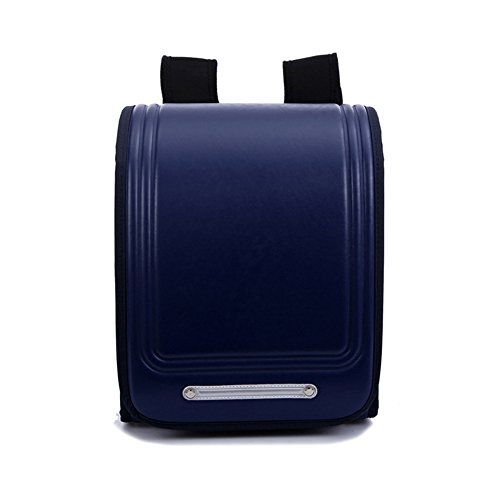- Beauty YaYa Japanese Primary and Secondary Schoolbag Children Backpack Burden Reduction Shoulderbag Shoulder Bag-Blue