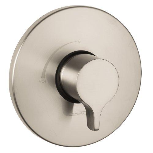 Hansgrohe 04355820 Metris Pressure Balance Trim, Brushed (Set Pressure Balance)