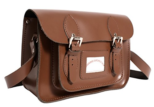 Donna A Satchel's Oxbridge Marrone Medium Borsa Secchiello xqIAaUZA