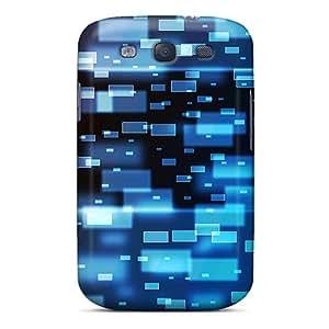 Excellent Design Squared Space Phone Case For Galaxy S3 Premium Tpu Case