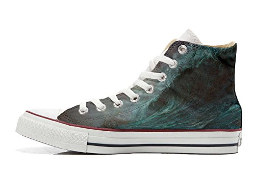 Converse All Star Customized - zapatos personalizados (Producto Artesano) Perfect Wave