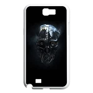 Samsung Galaxy N2 7100 Cell Phone Case White dishonored mask LV7185452