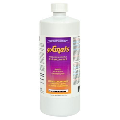 - Earth Juice goGnats Liquid Concentrate GoGnats Liquid Conc. Quart (12/Cs)