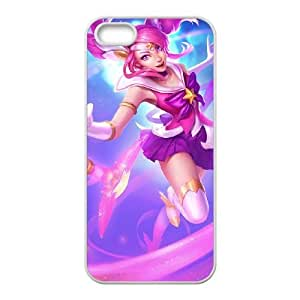 iPhone 5 5s Cell Phone Case White League of Legends Star Guardian Lux Flmbi