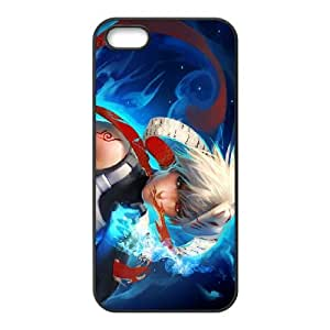 younger kakashi iPhone 4 4s Cell Phone Case Black yyfD-338432