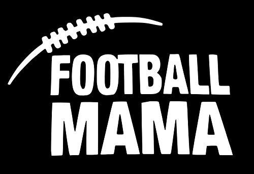 - Football Mama | Vinyl Sticker Decal | 5.5