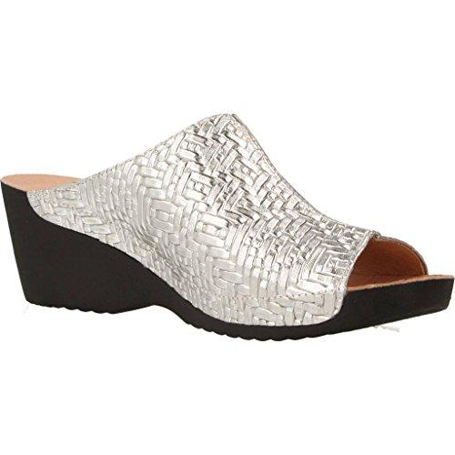 Para Mujer De modelo NORDIKAS Zapatos Cordones Plateado NORDIKAS Plateado 8040B marca para mujer 4 cordones Zapatos de color Plateado qv8O7qw