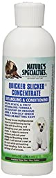 Nature\'s Specialties Quicker Slicker Concentrate Pet Conditioner, 8-Ounce