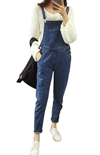 AvaCostume Womens Overalls Adjustable Straps