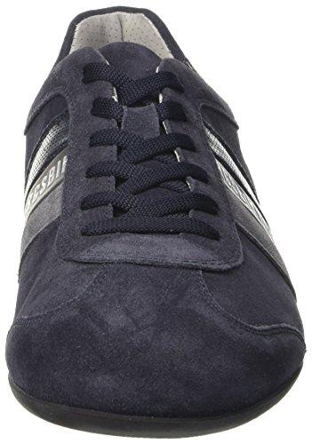 107926 Sneaker a Blue Uomo Collo Springer Bikkembergs Basso Blu Pvpn5