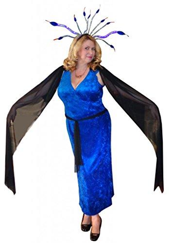 Sanctuarie Designs Women's Medusa /Basic Kit-headband/ Plus Size Supersize Halloween Basic (Medusa Plus Size Costume)