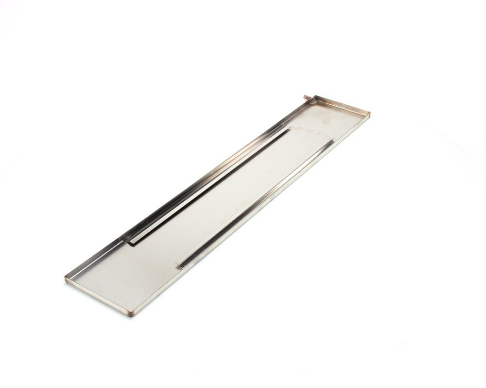 Norlake 107778 Evaporator Drain Pan Assembly, Stainless Steel