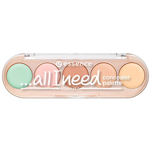 essence   All I Need Concealer Palette, 10 Cover It All   Color Correction Vegan & Cruelty Free