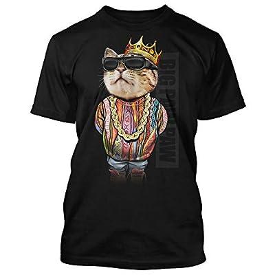Cat shirt Men's Big Paw Paw Cat Black T-Shirt Notorious C.A.T. B.I.G....