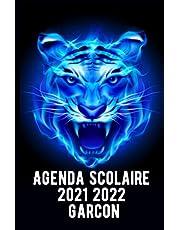 Agenda Scolaire 2021 2022 Garcon: Agenda gamer collège lycée étudiant pour planifier une année scolaire réussie - 1 jour par page.
