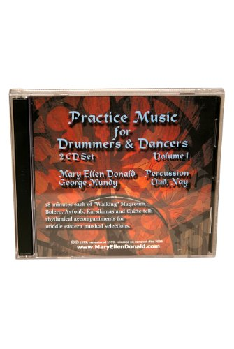 Practice Music, Drum & Dance CD Vol 1 by Mid-East