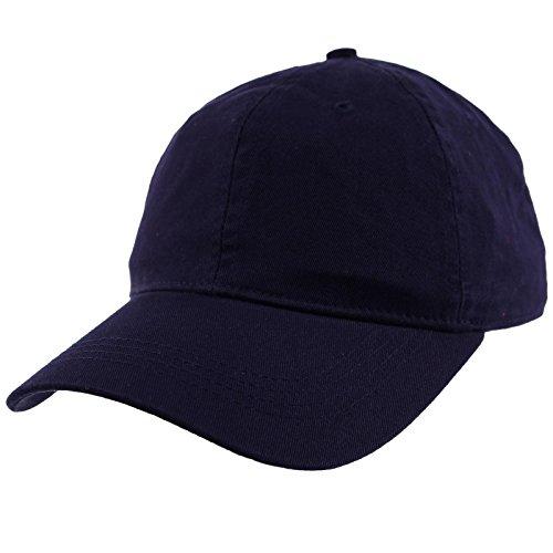 Everyday Unisex Cotton Dad Hat Plain Blank Baseball Adjustable Ball Cap Navy