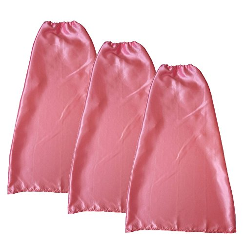 incess Capes For Girls Party Dress Up Costume For Children Capes For Kids (3 Pack)(Pink) (Pink Princess Cape)