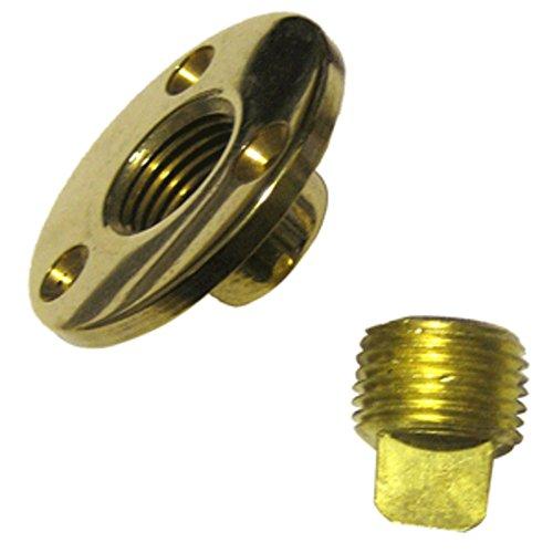 Perko Garboard Drain & Drain Plug Assy Cast Bronze/Brass MADE IN THE USA Marine , Boating Equipment ()