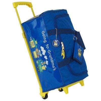 (Going to Grandma's Children's Duffel Bag Color Blue)