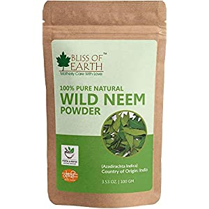 Bliss of Earth Wild Neem Leaves Powder, 100g 143