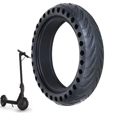 8 1/2X2 Scooter Explosion-proof Solid Tire for M365 Electric Scooter - Electric Scooters & Wheels Scooters & Wheels Accessories - 1 x Bicycle Saddle Suspension - Suspension Scooter Wheel