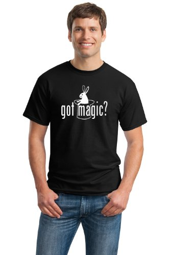 GOT MAGIC? Unisex T-shirt / Cool Magic Fan Magician White Rabbit Tee