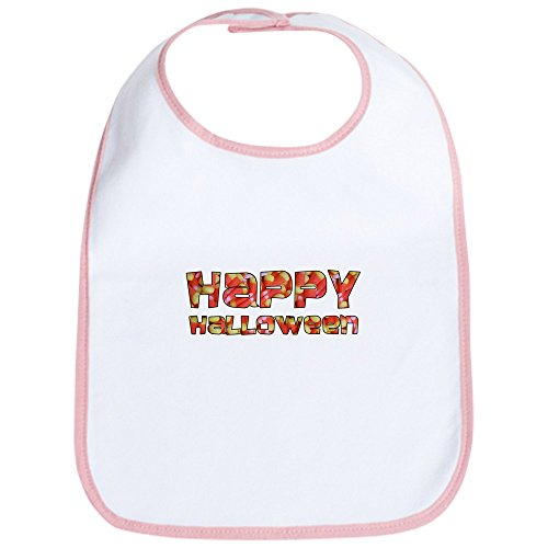 CafePress - Corny Happy Halloween Bib - Cute Cloth Baby Bib, Toddler Bib -