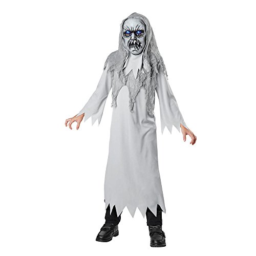 Totally Ghoul Light-Up Phantom Costume, Boy's size Small, ages 3+ (Light Up Phantom Costume)