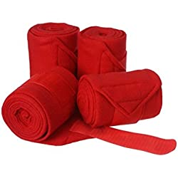 Tough 1 Polo Wraps, Red