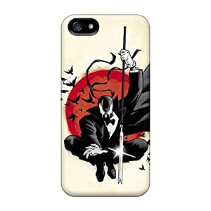 Tpu Case Cover For Iphone 5/5s Strong Protect Case - Deadpool Artwork Design