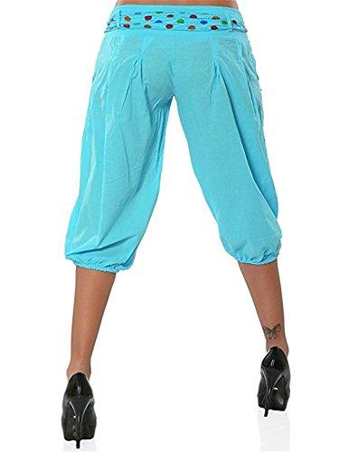 Blau Sciolto Women Yasminey Di Pantaloni Button 4 Donna Pantaloni 3 Giovane Estivi Pantaloni Tempo Fashion Con Pantaloni Eleganti Hippie Grazioso Vintage Libero Lanterna BwYBrq