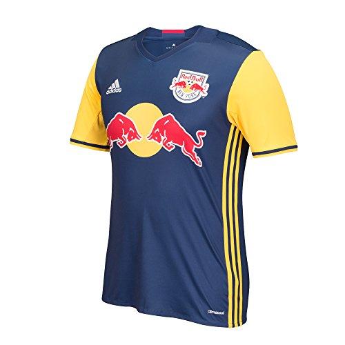MLS New York Red Bulls Men's Replica Short Sleeve Team Jersey, Dark Blue, Large