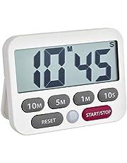 TFA Dostmann digitale timer en stopwatch, kunststof, 9 x 2 x 9 cm