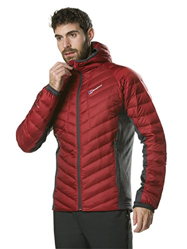 Berghaus Down Giacca Donna Stretch Tephra carbon Reflect Red Dahlia tZzIrZq