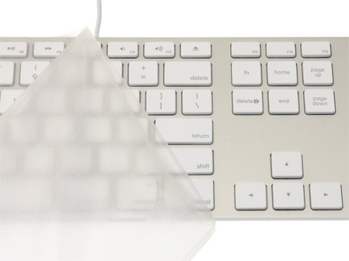 Micro Solution Pure Touch Key Protector #101 for Apple Keyboard by Micro Solution of Japan