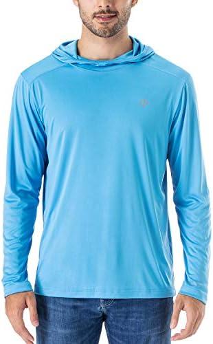 NAVISKIN Men's UPF 50+ UV Sun Protection Hoodie Lightweight Outdoor Long Sleeve T-Shirt – The Super Cheap