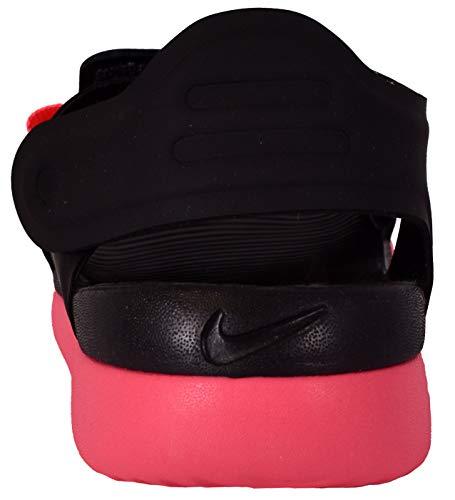 b77df2a0ef00 Nike Little Big Kids  Sunray Adjust 5 Sandal Black Racer Pink