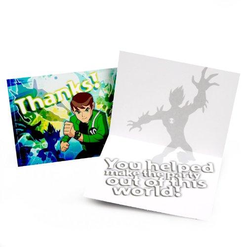 Ben 10: Alien Force Thank You Cards (8 -