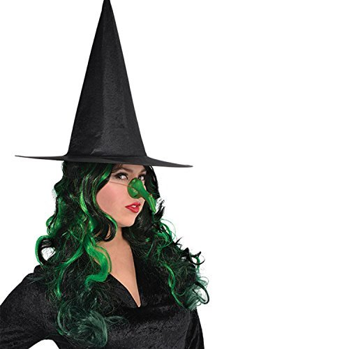 Costume Witch Kitchen (Amscan Green Witch Nose Costume)