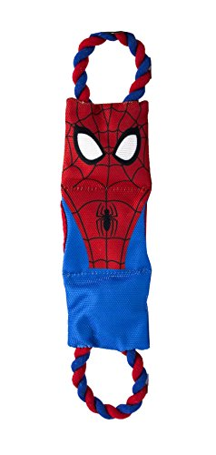Marvel Comics Spiderman Treat Pull Toy For Dogs | Super Hero Toys For All Dogs and -