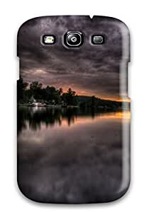 Galaxy S3 Case Slim [ultra Fit] Dark Clouds Up Ahead Protective Case Cover