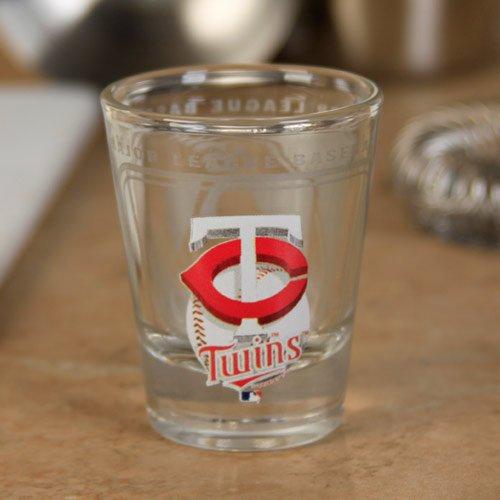 Hunter MLB Minnesota Twins 2oz. High-Definition Design Shot Glass