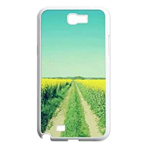 LASHAP Phone Case Of Breath of spring For Samsung Galaxy Note 2 N7100