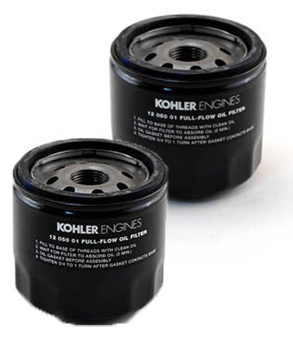 Kohler (2 Pack) 12 050 01-S Engine Oil Filter For CH18 - CH25 And CV18 - CV25, Model: , Home/Garden & Outdoor Store