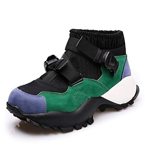 Comfort chiaro Tacco Rosa Fibbia poliuretano da rotonda da PU ZHZNVX amp; donna Autunno Inverno Scarpe Sneakers pallacanestro Blu punta Scarpe piatto Green Verde x8HqOw1