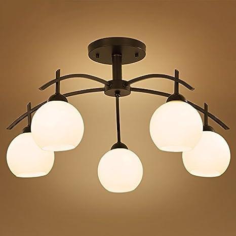QAZ 3/5/8 l\'éclairage simple et moderne américain nordique ...
