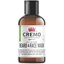 Cremo Beard and Face Wash, Mint Blend, Cleans And Conditions Facial Hair Without Irritating Skin Underneath, 4 Ounce