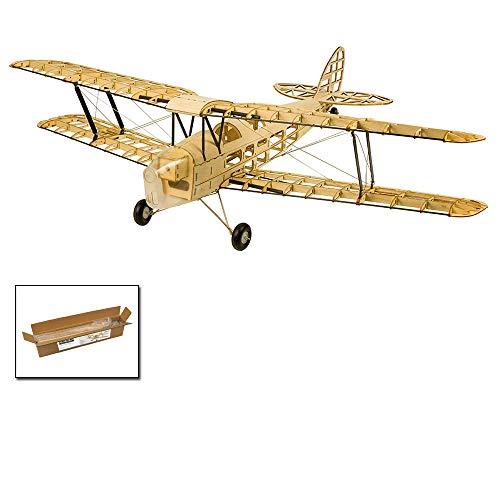 Upgrade Balsa Wood Airplane Kits Mini Tiger Moth Biplane, 39