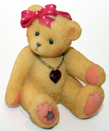 Cherished Teddies Little Sparkles Birthstone Bear July